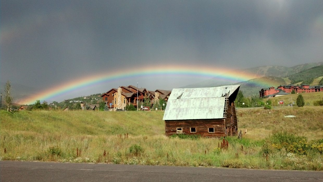 Gorgeous rainbow. Submitted by: Denise Buchanan