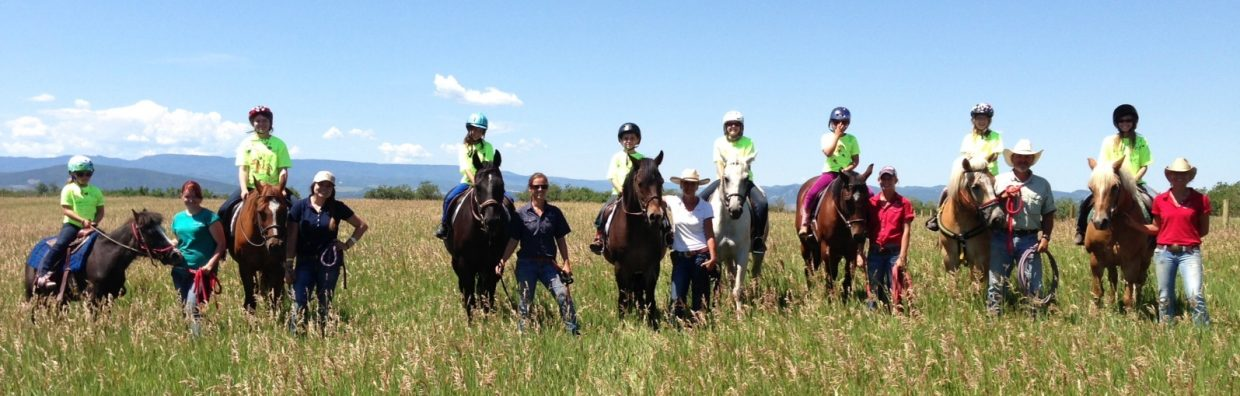 We had an awesome week here at CR Summit with the Parks and Recreation Center's Horseback Riding Camp. We had eight participants ranging in ages from 8 to 11 years old. Submitted by: Aileen Sandstedt