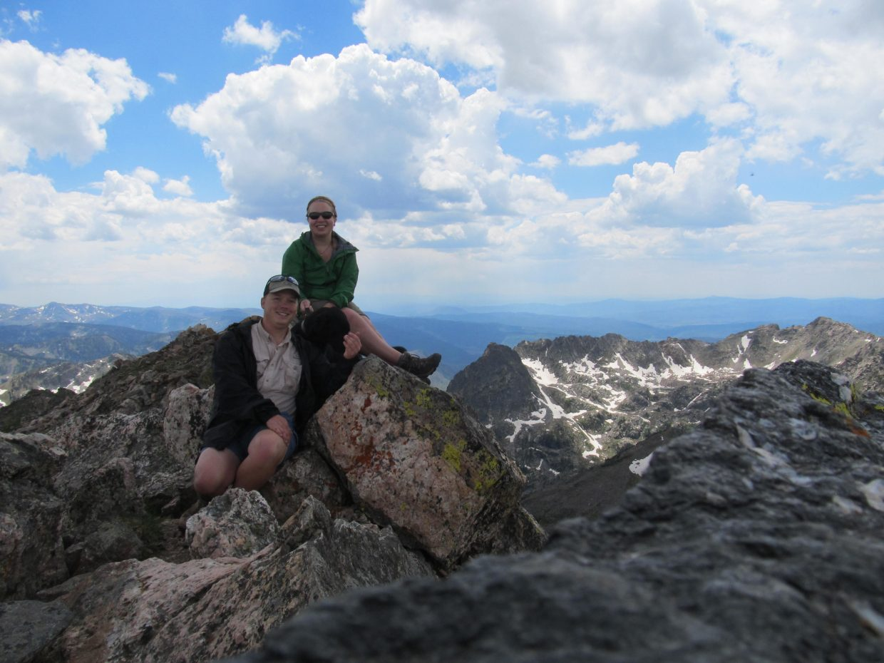 A great few days backpacking in the Zirkels with my girlfriend Amanda and dog Theodore. The hike to Mount Zirkel summit was spectacular! Submitted by: Adam Harwood