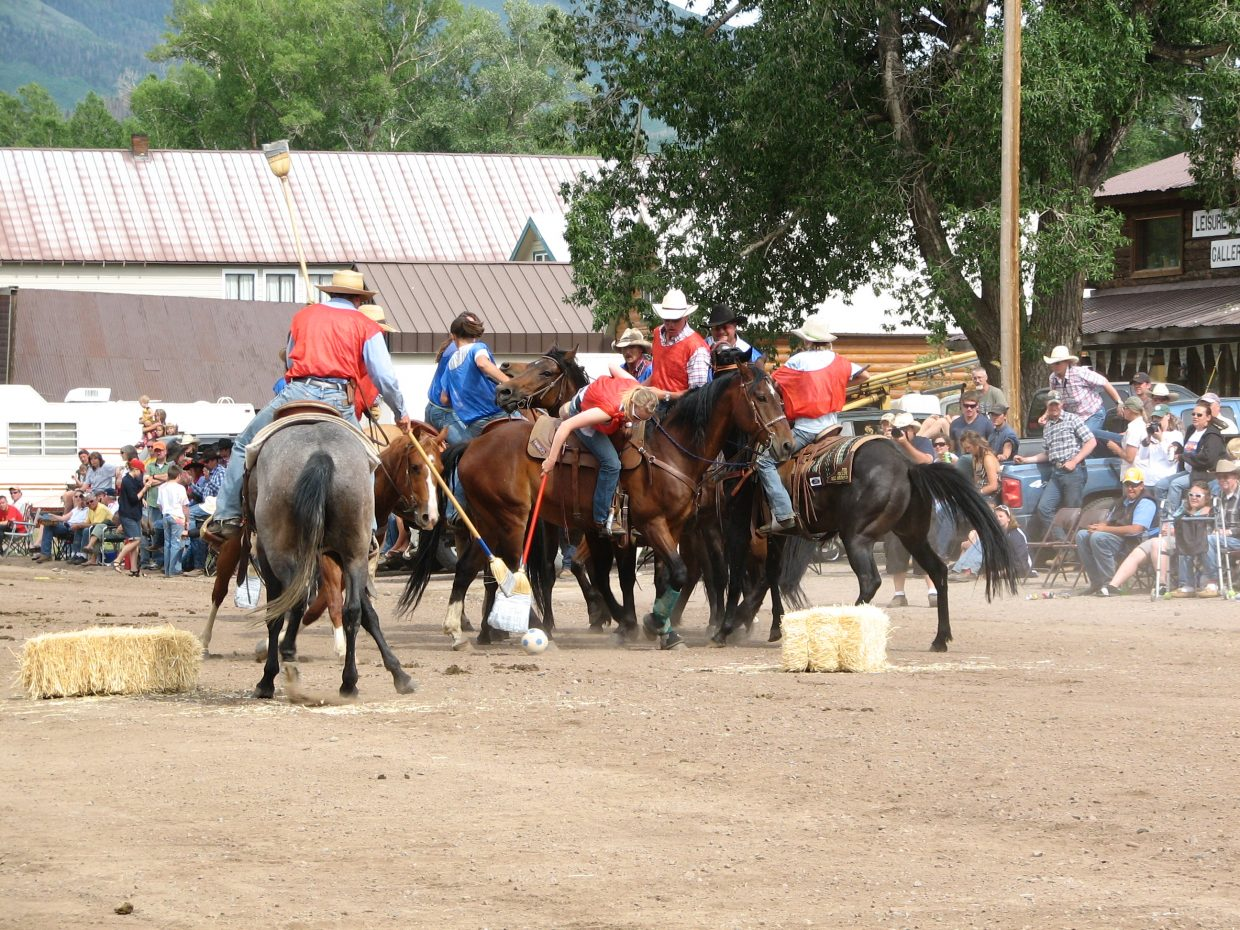 Yampa Fourth of July Horse Polo