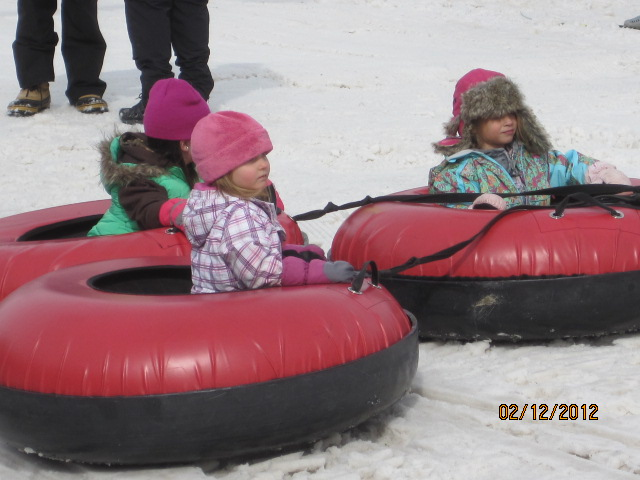 Three future Winter Carnival queens. Submitted by: Curt Merchant.