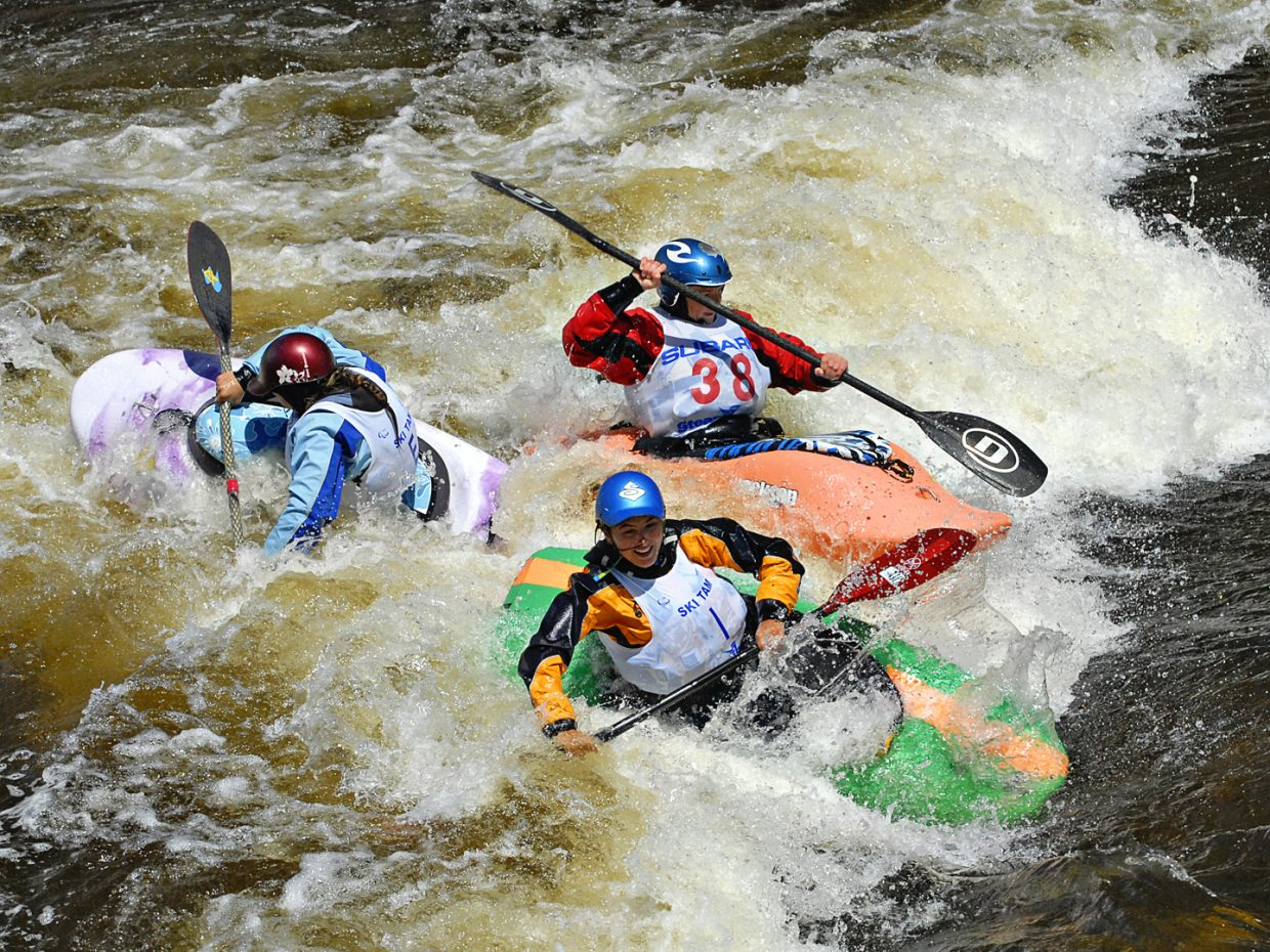 Some shots from the Women's Paddling Life Pro Open on Monday. Submitted by Jeff Hall.
