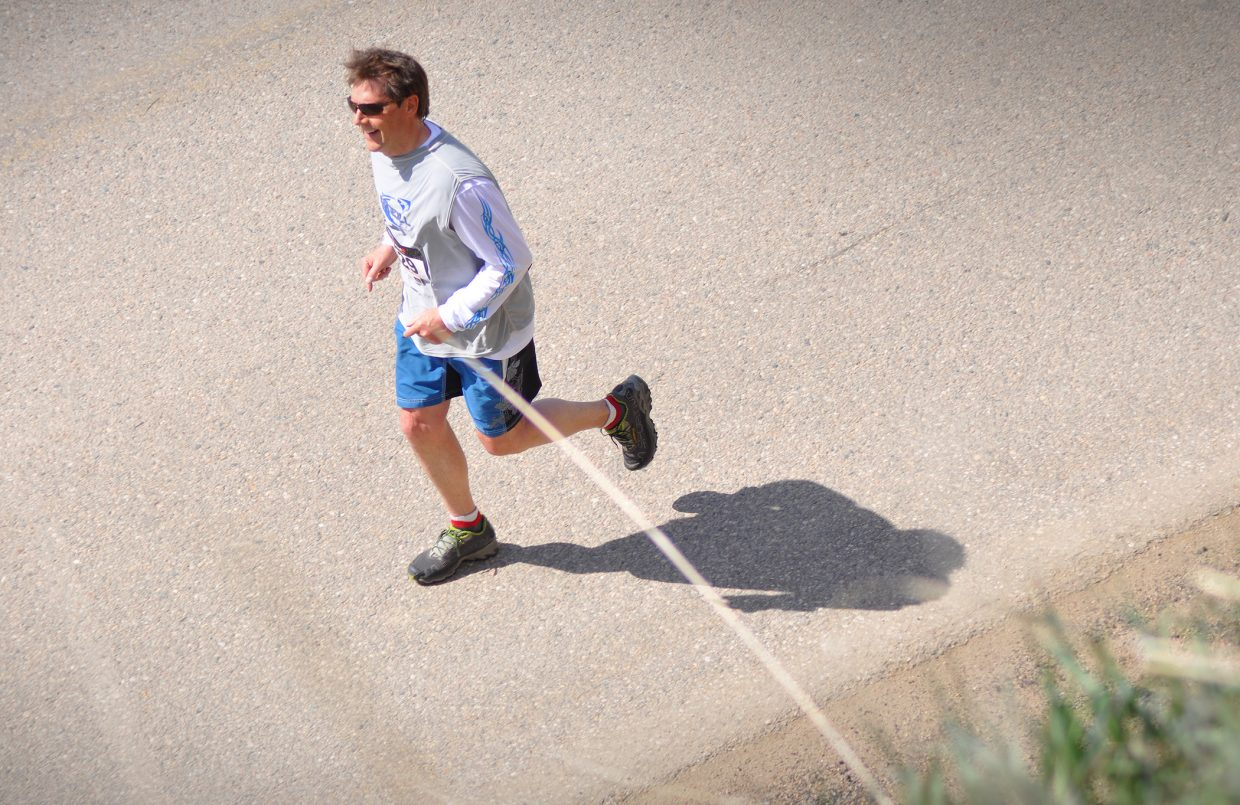 Kevin Lind at the Hayden Cog Run. Submitted by: Wendy Lind