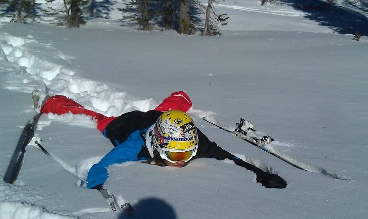 A day of skiing in Morningside area. Submitted by: Catherine Kurtz