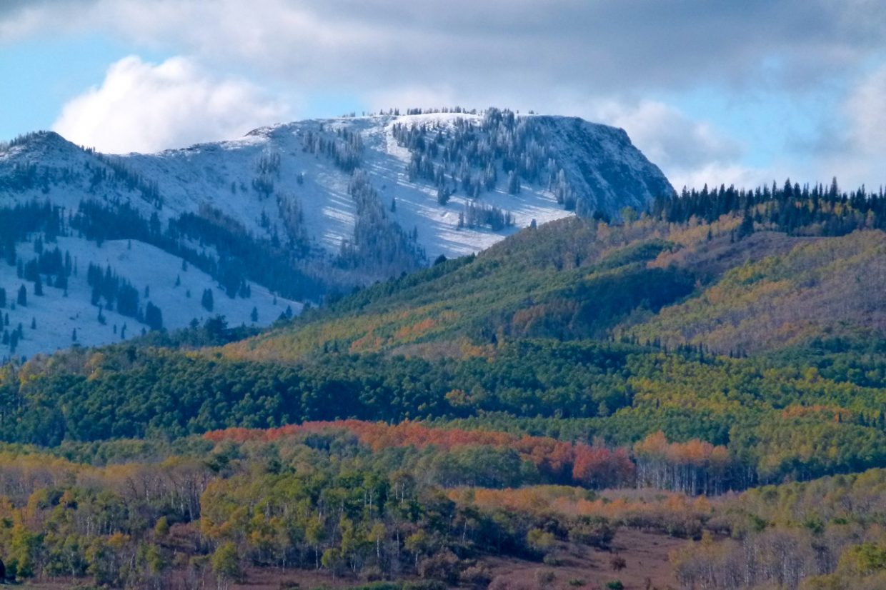 Sand Mountain changing of seasons. Submitted by: Ray Heid