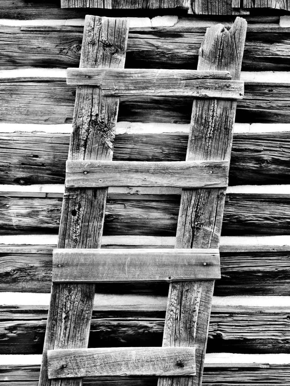 Crooked ladder at Mad Creek Barn. Submitted by: Jeff Hall