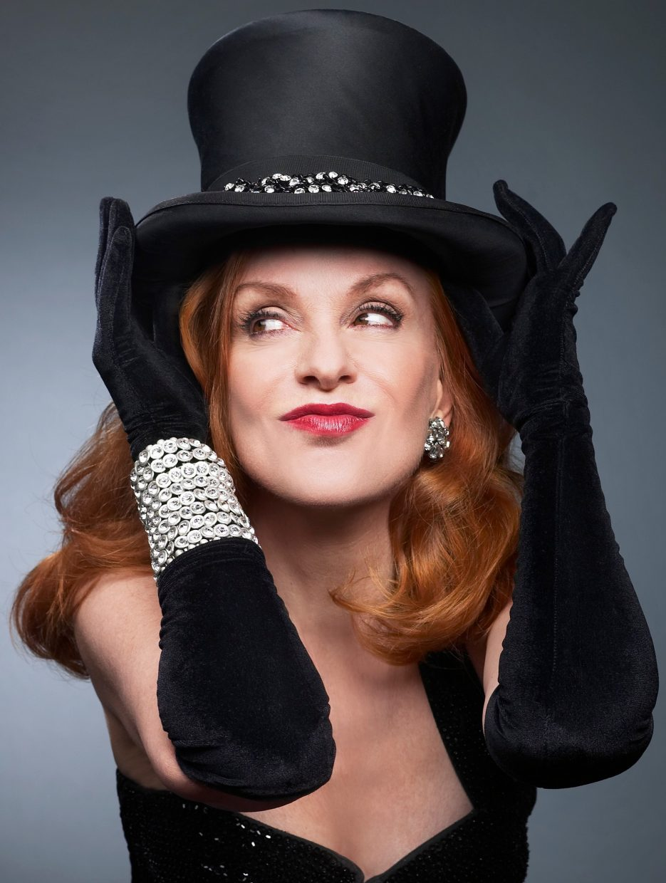 Denver's Lannie Garrett will perform The Chick Sings Sinatra on Friday at the Chief Theater.