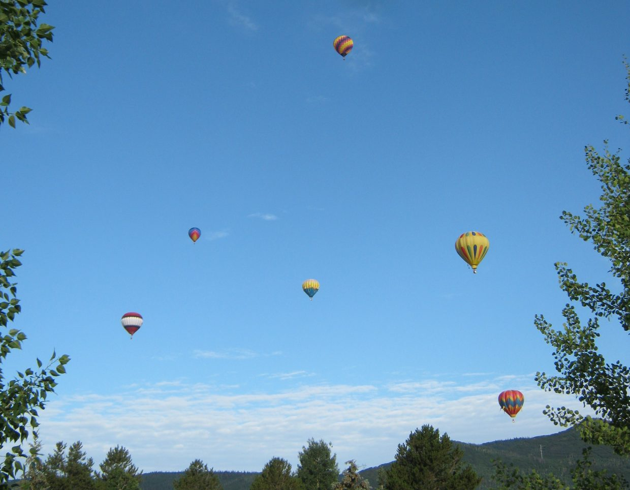 Steamboat Springs Hot Air Balloon Rodeo 2013. Submitted by: Janie Johnson-Russell