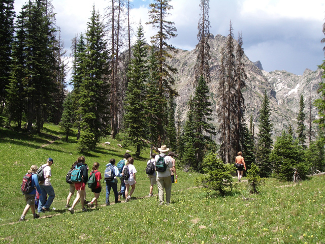 """Students of Rocky Mountain Summer Conservatory enjoy a hike on the familiar Gilpin trail. """"People around the community understand,"""" RMSC founder Ernest Richardson said. """"Steamboat knows it's important to stay fit and enjoy life."""""""