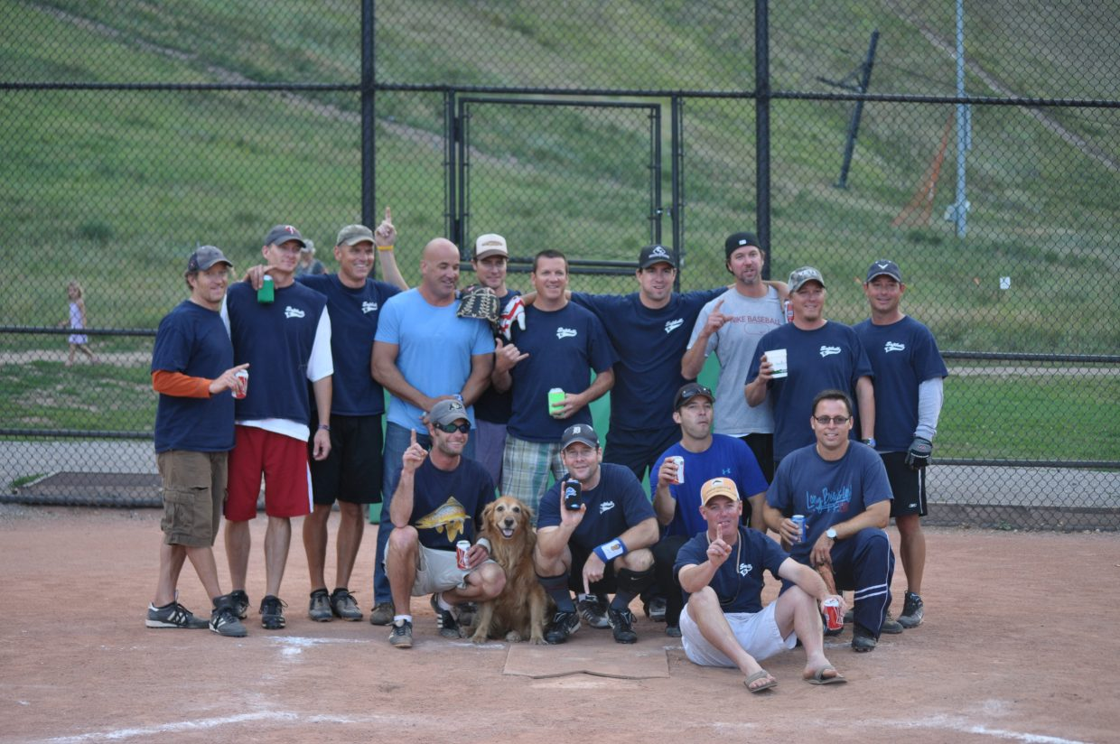 The Men's Division 2 champion for 2012 softball season was The B Team.