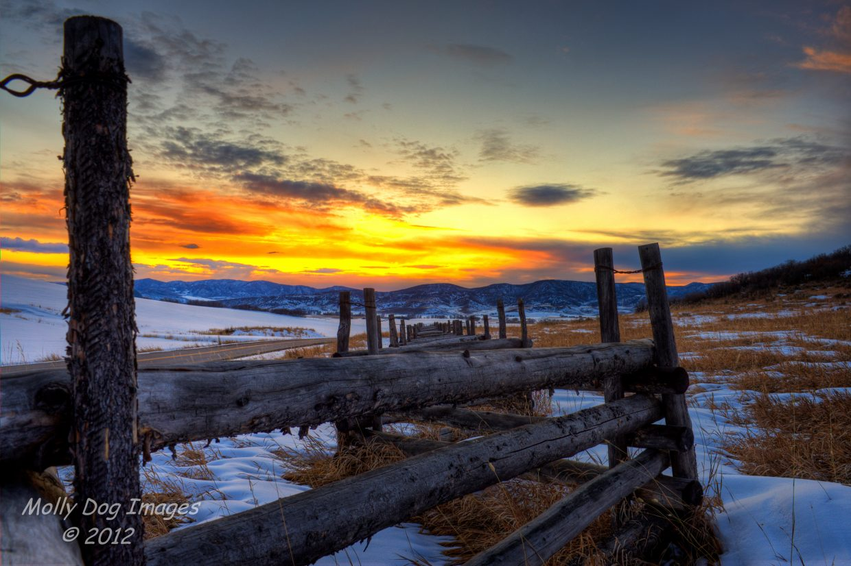 Just one of the many reasons we live in the Yampa Valley. Submitted by: John McArthur