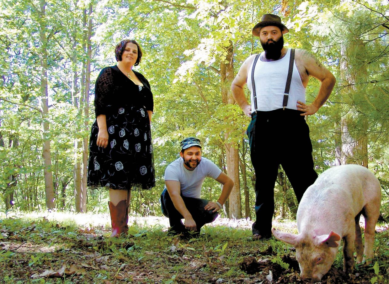 Old-time blues trio The Reverend Peyton's Big Damn Band plays March 14 at Steamboat Ski Area.