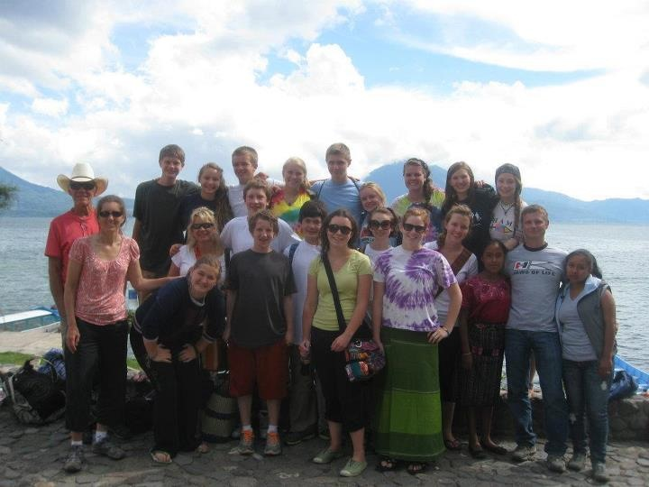 United Methodist Church youth mission team in Guatemala. Submitted by: Linda Sobeck