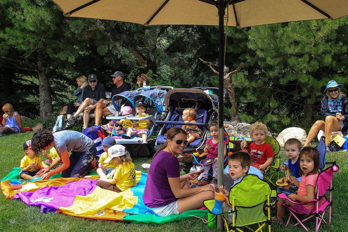 Music on the Green on Aug. 8. Submited by: G. Fredric Reynolds