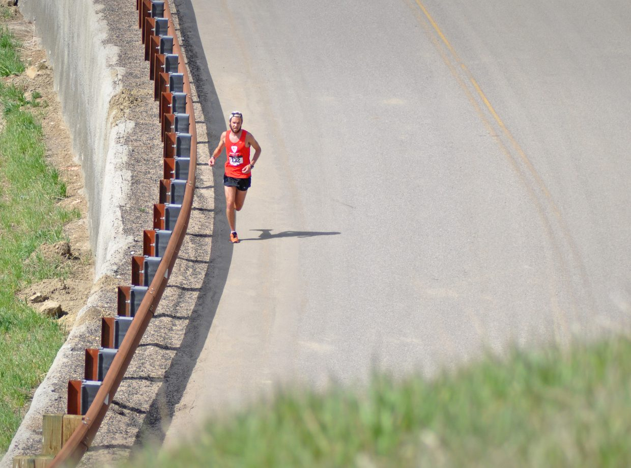 Nathan Allen during the Hayden Cog Run. Submitted by: Wendy Lind