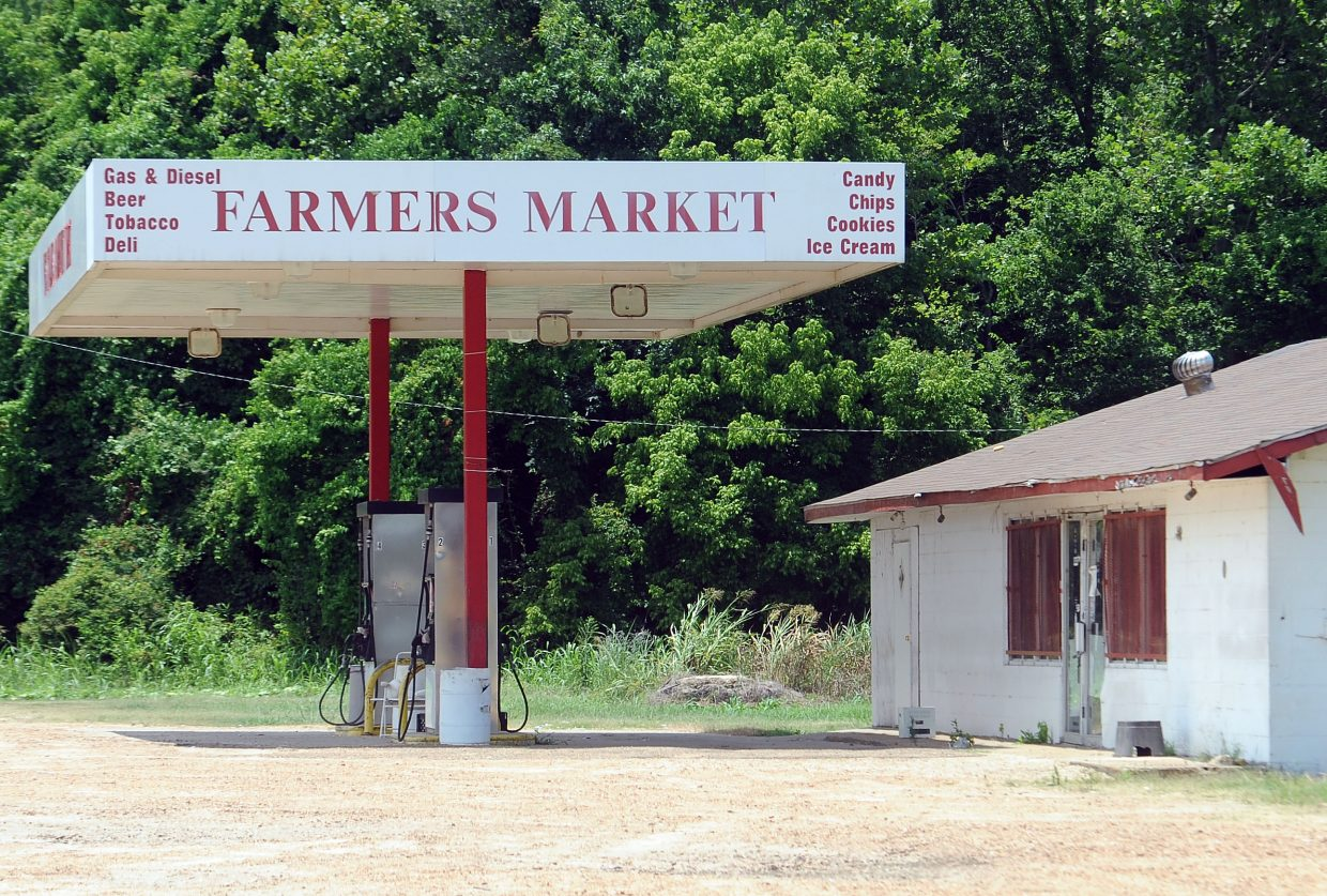 Calvin Head helped organize a co-op among area farmers willing to grow fruits and vegetables on their ground. They then sell some of their harvest at the farmers market — formerly an abandoned gas station — near the town of Mileston, Miss. Head envisions a vegetable-processing plant for the area in the future, something that could provide jobs and healthy opportunities for residents.