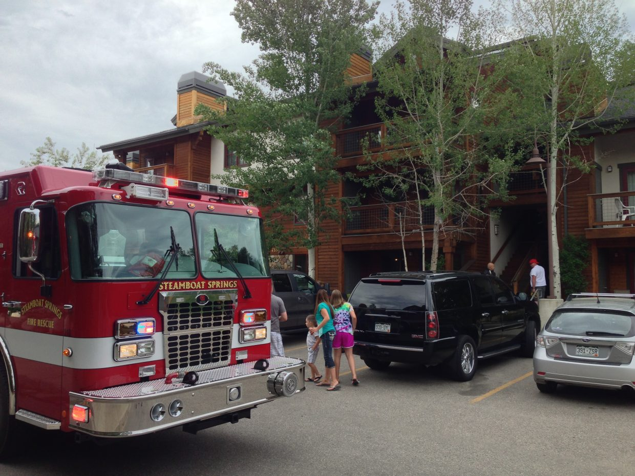 An explosion was reported Thursday evening at The Pines Condominiums in Steamboat Springs. It is suspected the explosion happened while teens were making a marijuana concentrate called ear wax.