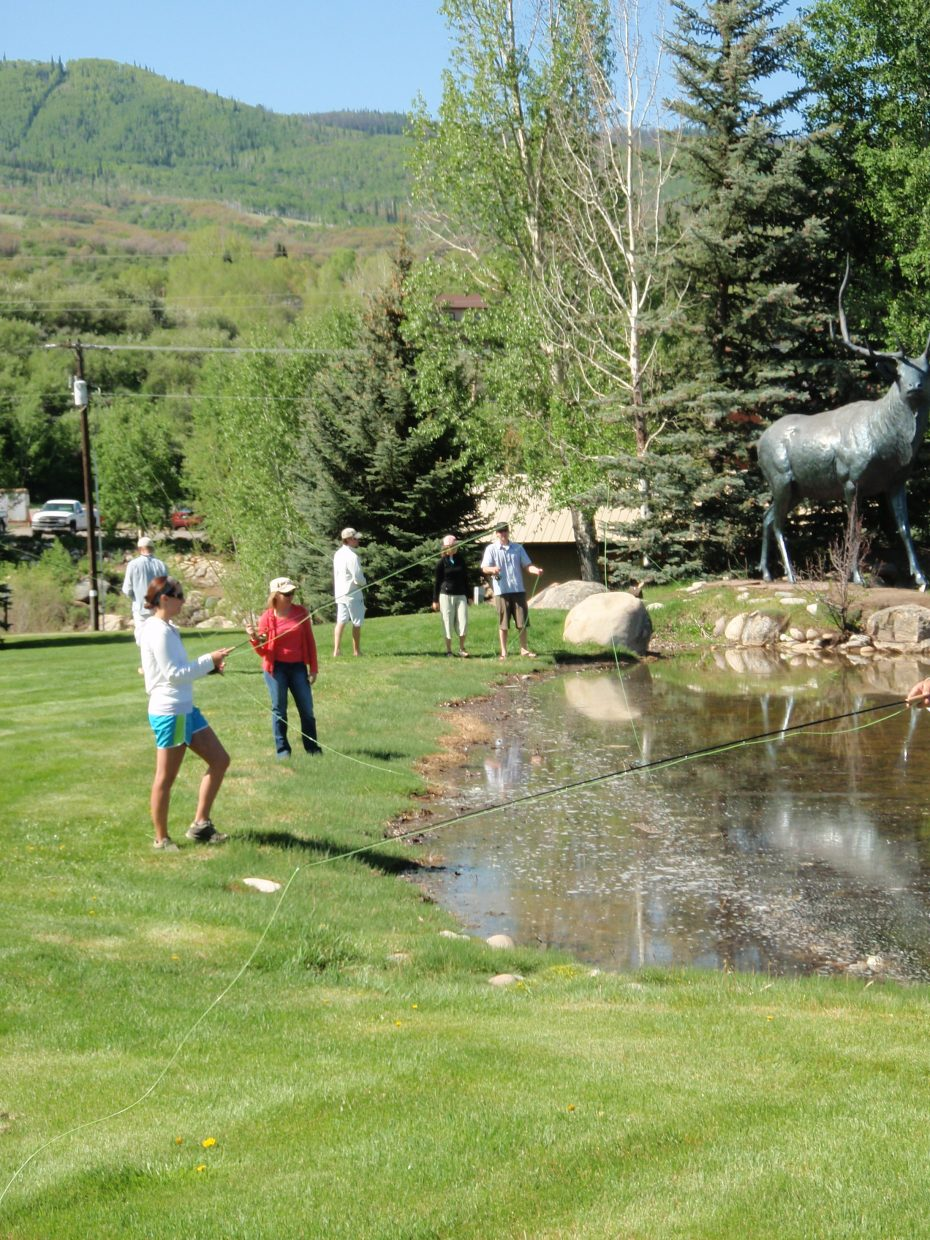 Free fly-fishing clinic this weekend in Steamboat Springs. Submitted by: Tim Kirkpatrick