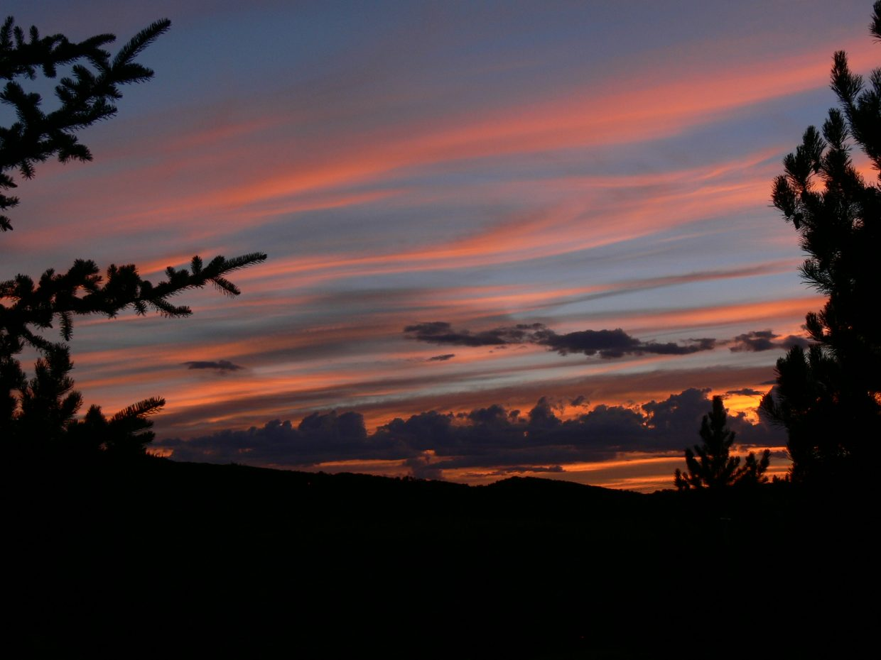 Sunset from Anglers Drive 8/2/2013. Submitted by: Art Judson