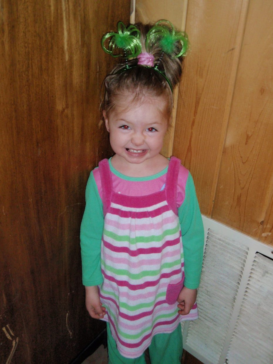 Happy St. Paddy's Day! Greta Martin, age 4. Submitted by: Candice May Martin