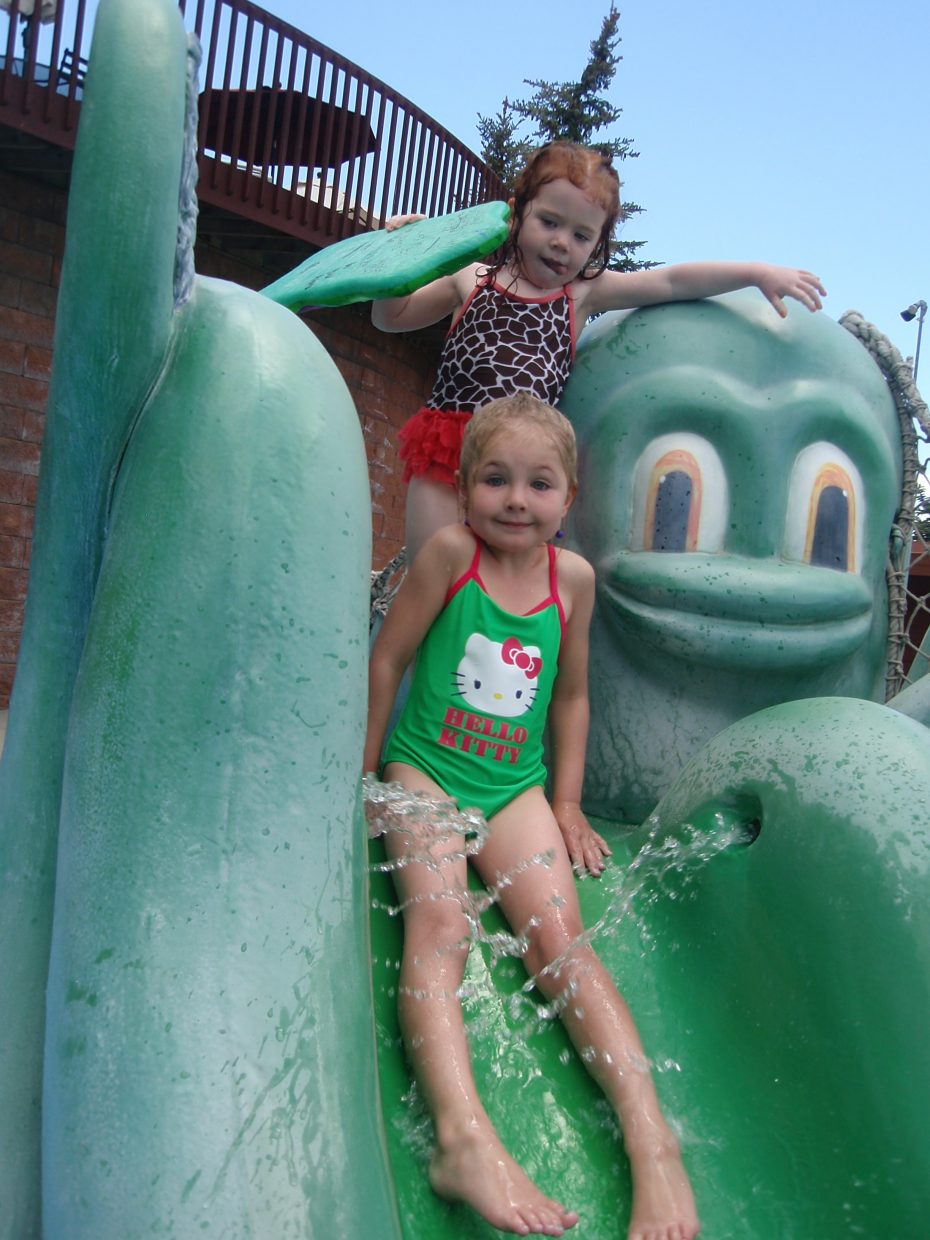 Greta Martin, age 5, enjoys a day at the Old Town Hot Springs. Submitted by: Candice Martin