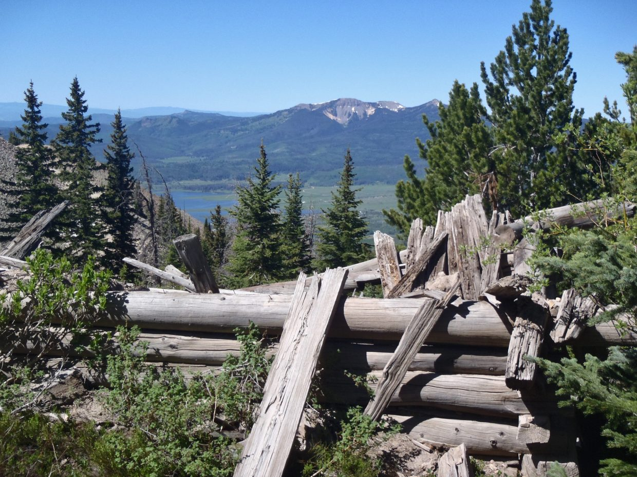 Hahn's Peak hike. Submitted by: Larry Schnackenberg