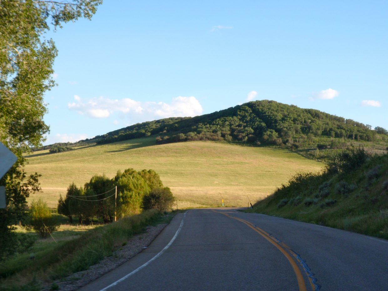 Motorcycle ride along Twentymile Road. Submitted by: Marie-Beth Cheezem and Brian Fisher
