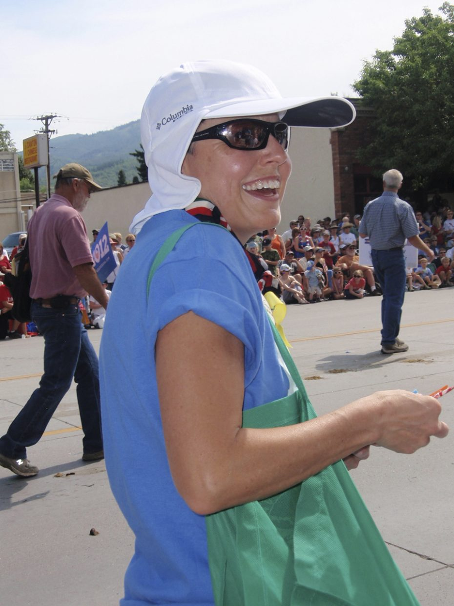 Routt County Democrats at the Fourth of July parade. Submitted by: Candice May Martin