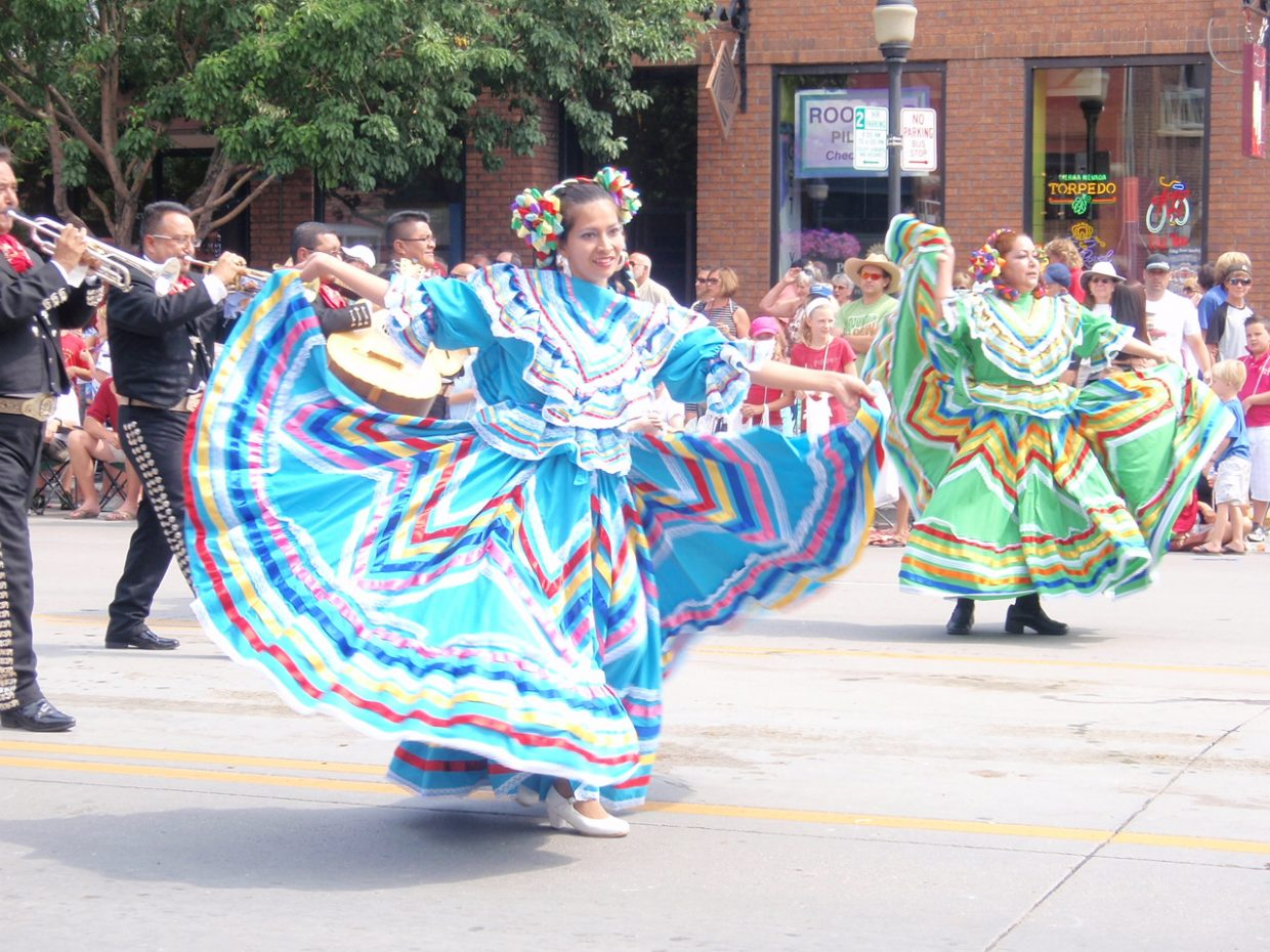 Fiesta Jalisco dancers on Fourth of July. Submitted by: Candice May Martin