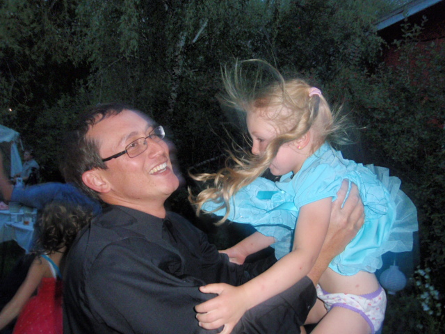 Dancing at the Cottonwood Grill. Siam Dedduang and his niece Greta Martin. Submitted by: Candice Martin