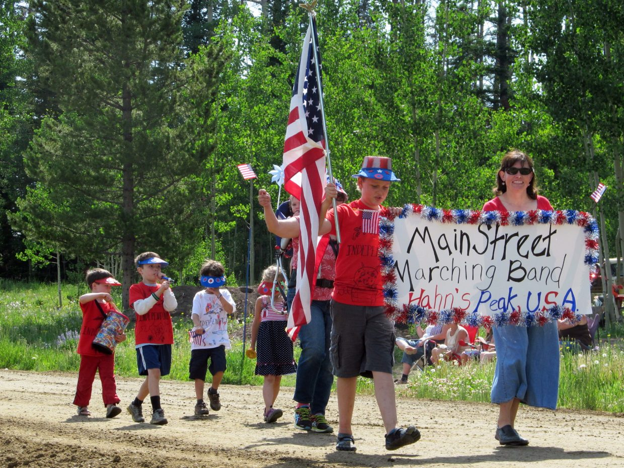 Fourth of July in Hahn's Peak: Best band ever! Submitted by: Anne Zamzow