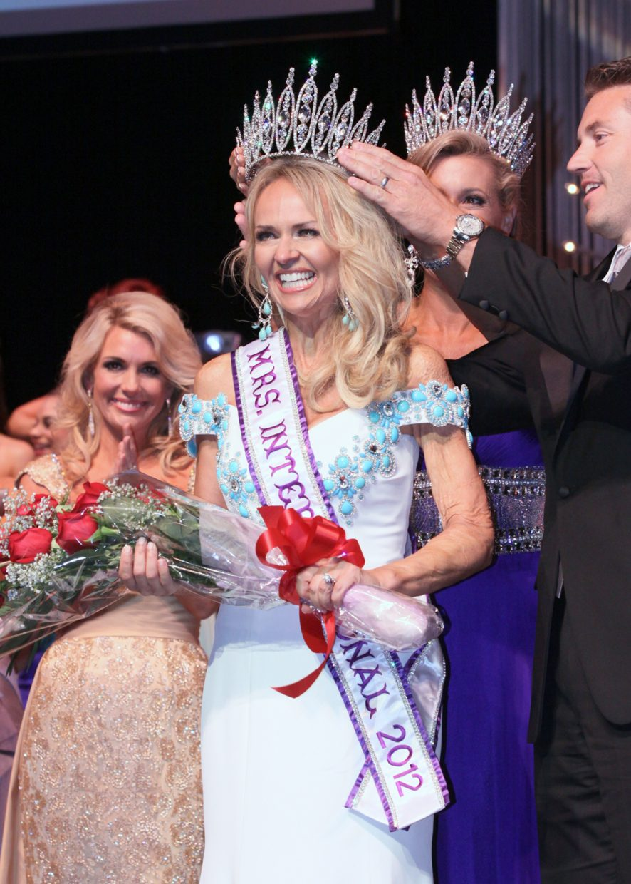 Sarah Bazey, crowned Mrs. International 2012 last July, will appear in Steamboat Springs' Fourth of July Parade on Thursday. Her commitment to advocating for burn victims and their families played a prominent role in her ability to claim her crown.