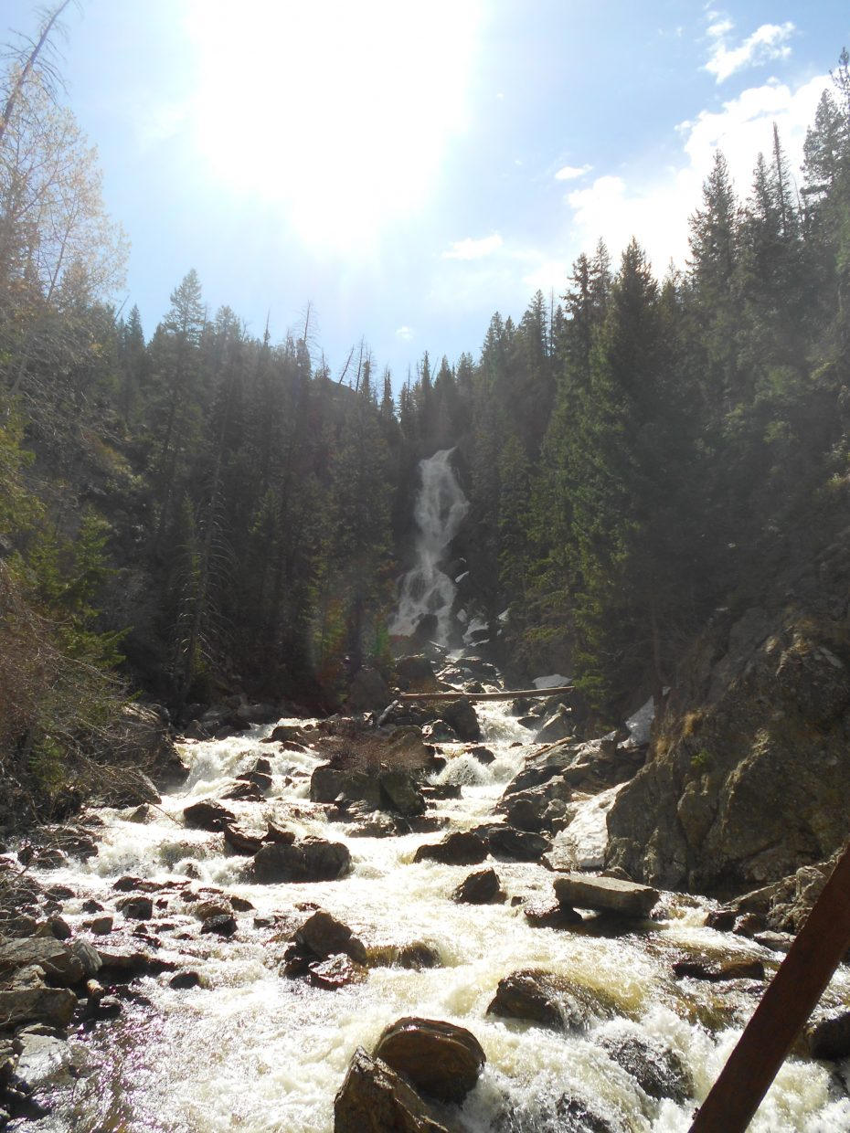 Fish Creek Falls. Submitted by: Maryedith Davies