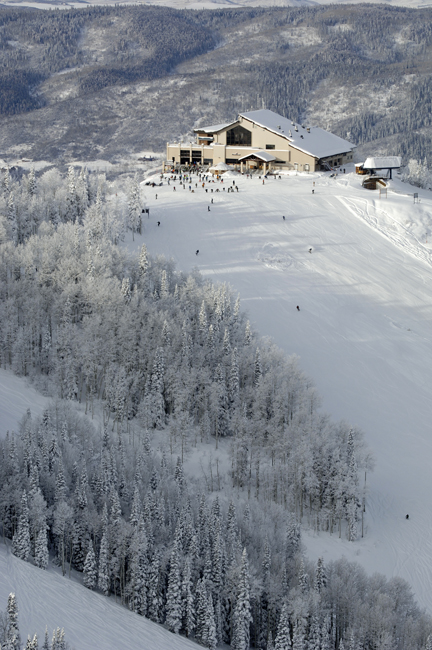 The gondola opens Friday as nearly a foot of new snow awaits anxious skiers and riders.