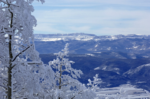 A storm blanketed the ski resort with nearly a foot of new snow. Steamboat Ski Area will open more terrain today, including the Storm Peak Express lift, which will allow top-to-bottom skiing of the mountain.