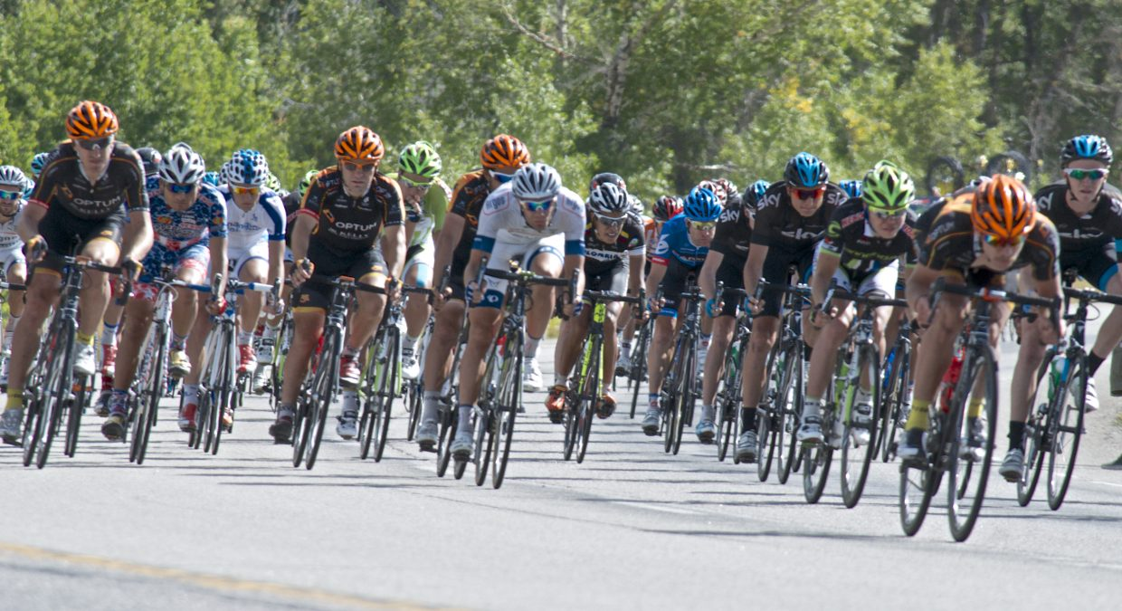 USA Pro Challenge descending Rabbit Ears Pass on Wednesday. Submitted by: Dana Stoner