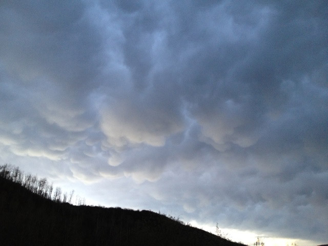 Storm over Saddle Mountain Ranchettes. Submitted by: Kristin Pugh.
