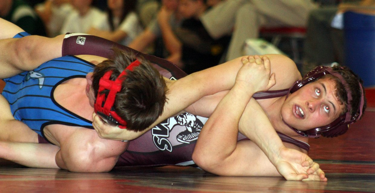 Tristan Palyo vs. a Norwood wrestler. Submitted by: Coty Dilldine