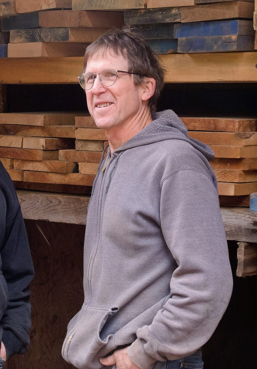 Craftsman and furniture maker Robert Erickson, who helped to erect the towers for the original Thunderhead Chairlift towers at Steamboat Ski Area in 1965 and lived next door to Strawberry Park legend Daisy Anderson, returns to Steamboat Springs to show his wood chairs during the All Arts Festival from Aug. 15 to 18.