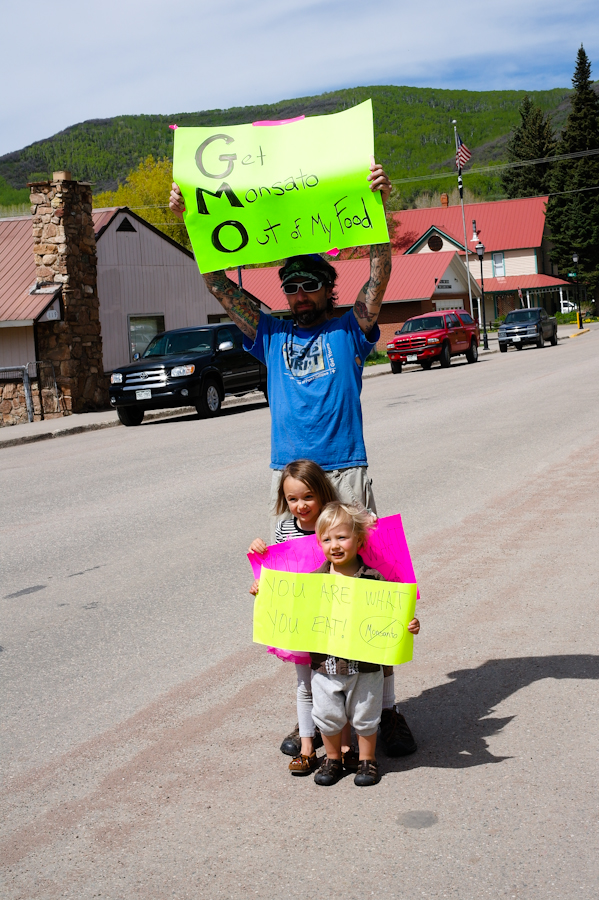 March against Monsanto in Oak Creek. Submitted by: Paula Jaconetta