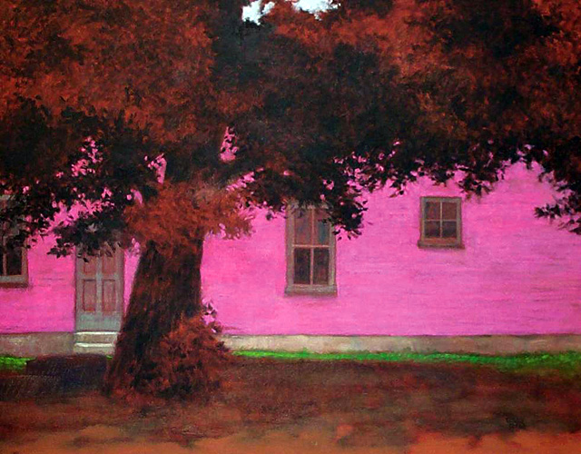 """""""Lincoln Park,"""" painting by Donald Berry who is being represented by Studio Gallery 27. The opening reception is Saturday from 6 to 8 p.m. at Studio Gallery 27 in Ski Time Square."""