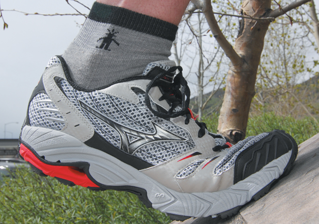 High-end performance shoes like these from Mizuno will highlight the spring fashions at Ski Haus.