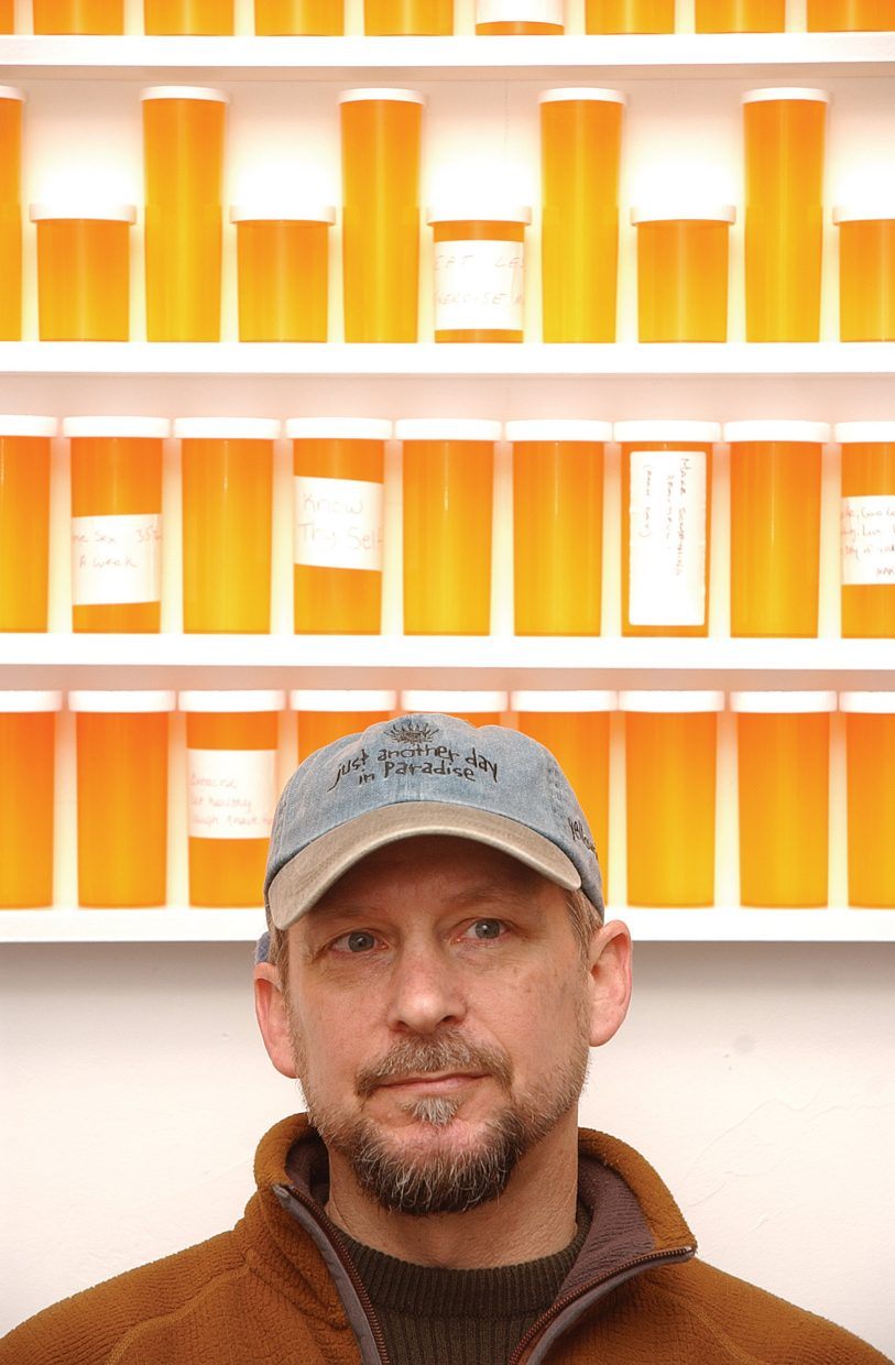 Joel Allen's exhibit entitled Pharmaillogical: Can You Swallow This? will debut on Friday from 5 to 8 p.m. at the K. Saari Gallery, 837 Lincoln Ave., in downtown Steamboat Springs. The exhibit runs though Jan. 27.