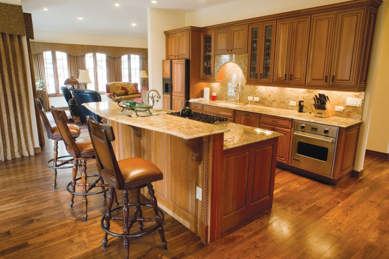 Granite countertops and top-of-the-line appliances can be found in this property at 952 Steamboat Boulevard a great value in the Sanctuary subdivision.