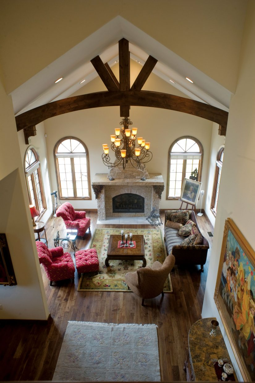 Vaulted ceilings and a comfortable floor plan make this home at 952 Steamboat Boulevard one of the great buys in the Sanctuary subdivision.