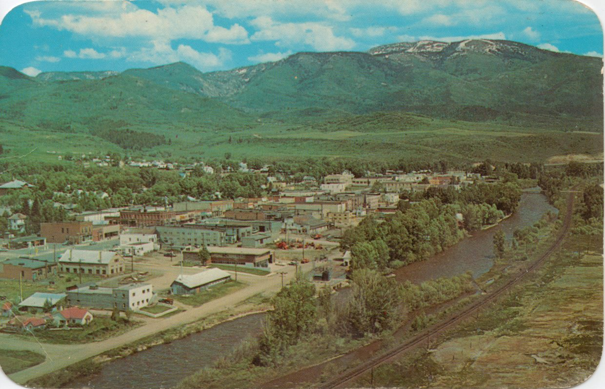 Old postcard of Steamboat Springs Submitted by: Lenny Gawlinski