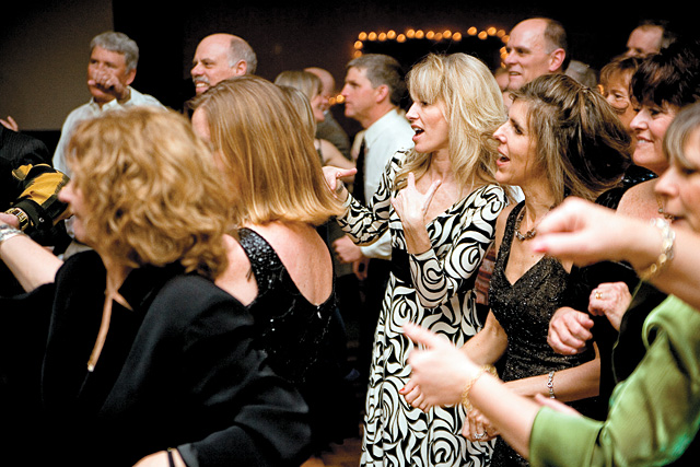 Guests at Ski Corp.'s Snowball on March 10. The event benefited the Steamboat Springs Booster Club.