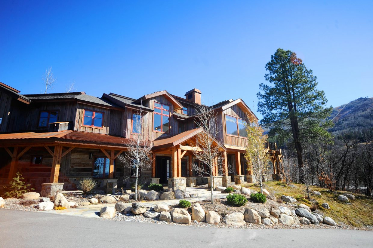 """""""South Park"""" creators Trey Parker and Matt Stone completed their Steamboat getaway overlooking the South Valley and Mount Werner in late 2007."""