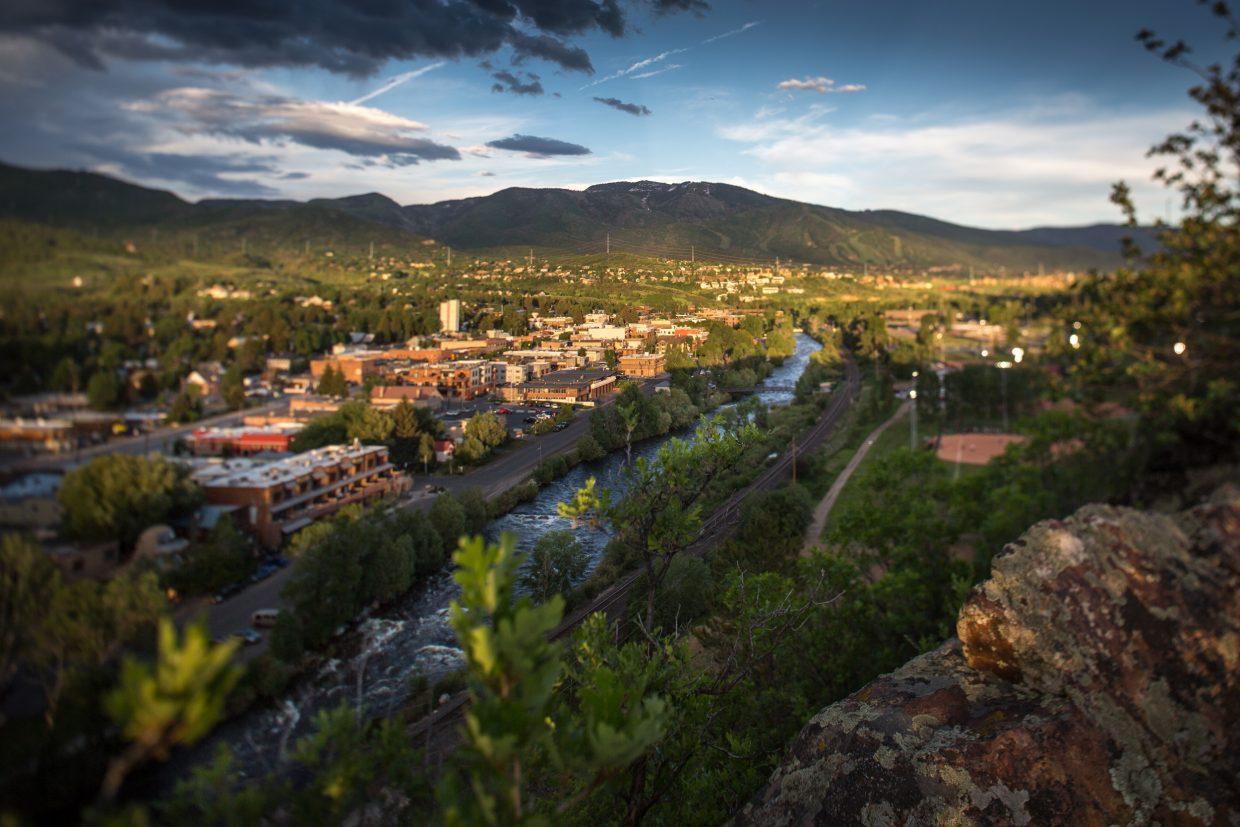 Looking over Steamboat Springs — our irresistible town. Submitted by: Charlie Dresen