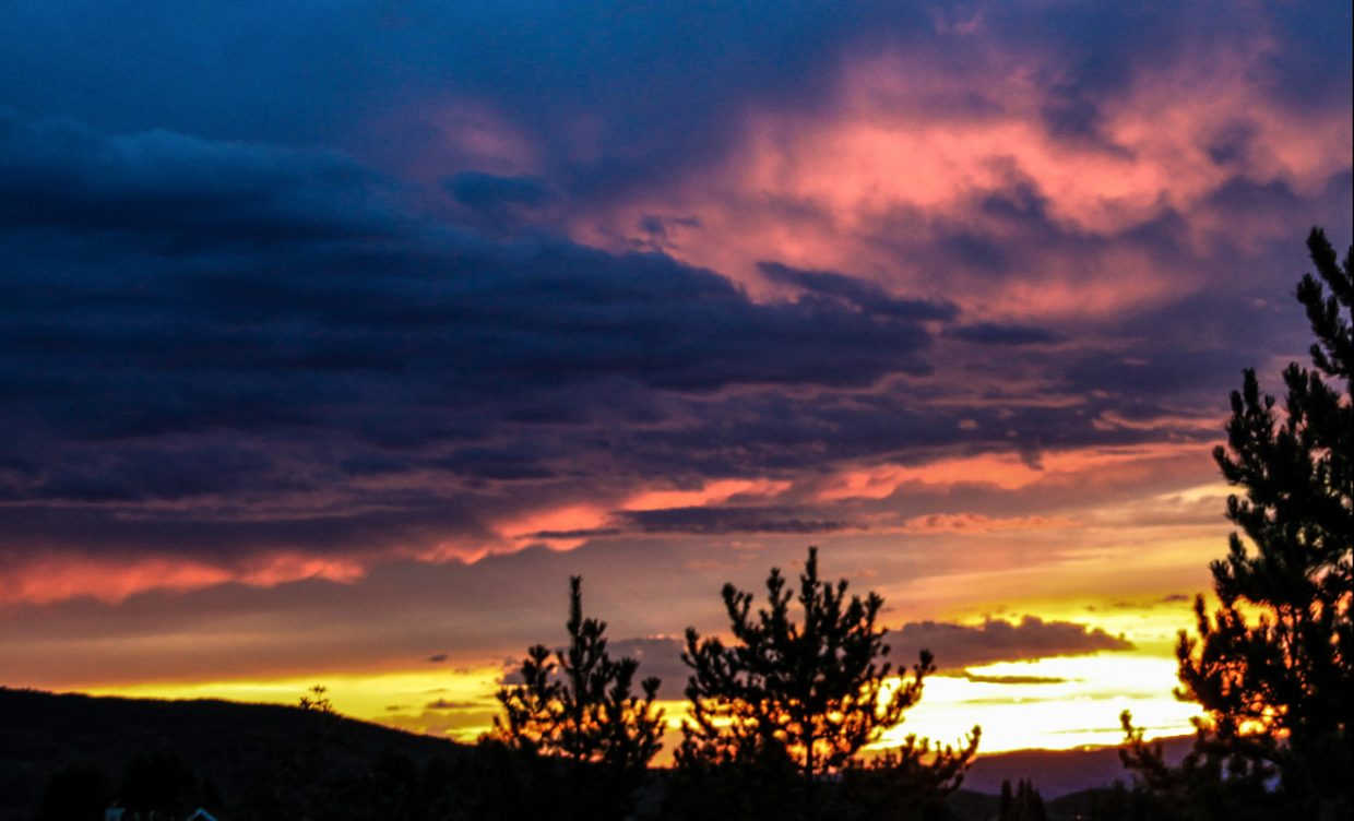 Sunset after storm: Another view that I took of the spectacular sunset Monday evening. Submitted by: G. Fredric Reynolds